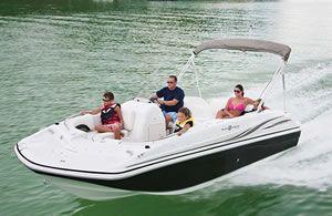 21′ Hurricane Fish & Ski Boat