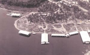 Port of Kimberling Marina Circa 1978